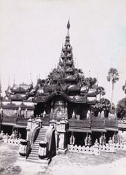 Exterior of the Pyatthat of Queen's Golden Monastery, [Mandalay]